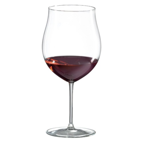 Classics Burgundy Grand Cru Glass (Set Of 4) With Free Microfiber Cleaning Cloth