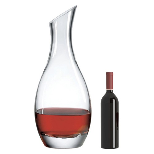 Cristoff Salmanazar Decanter with Free Microfiber Cleaning Cloth