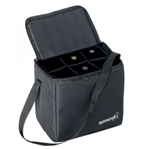 Ultimate Wine Carrying Bag with Free Microfiber Cleaning Cloth